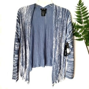 Nic + Zoe Open Breeze Cardigan Blue Haze